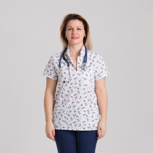Куртка медицинская женская 9703-400