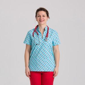 Куртка медицинская женская 9703-419