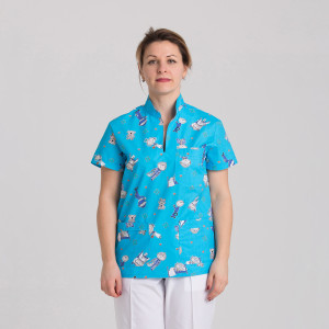 Куртка медицинская женская 9703-422