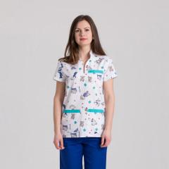 Куртка медицинская женская 9703-423