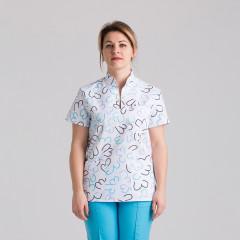 Куртка медицинская женская 9703-475