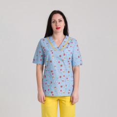 Куртка медична жіноча 9709-402