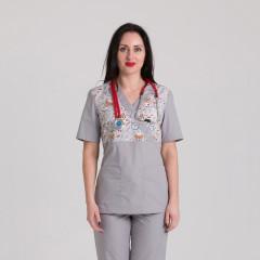 Куртка медицинская женская 9715-102-424