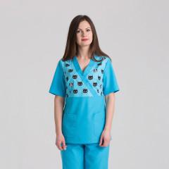 Куртка медицинская женская 9715-102-404