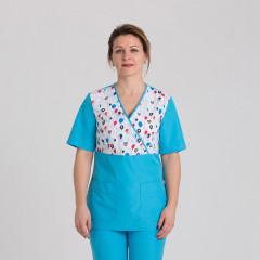 Куртка медицинская женская 9715-102-453