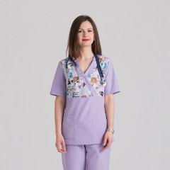 Куртка медицинская женская 9715-102-447