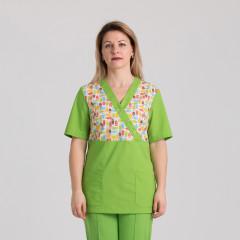 Куртка медицинская женская 9715-102-427