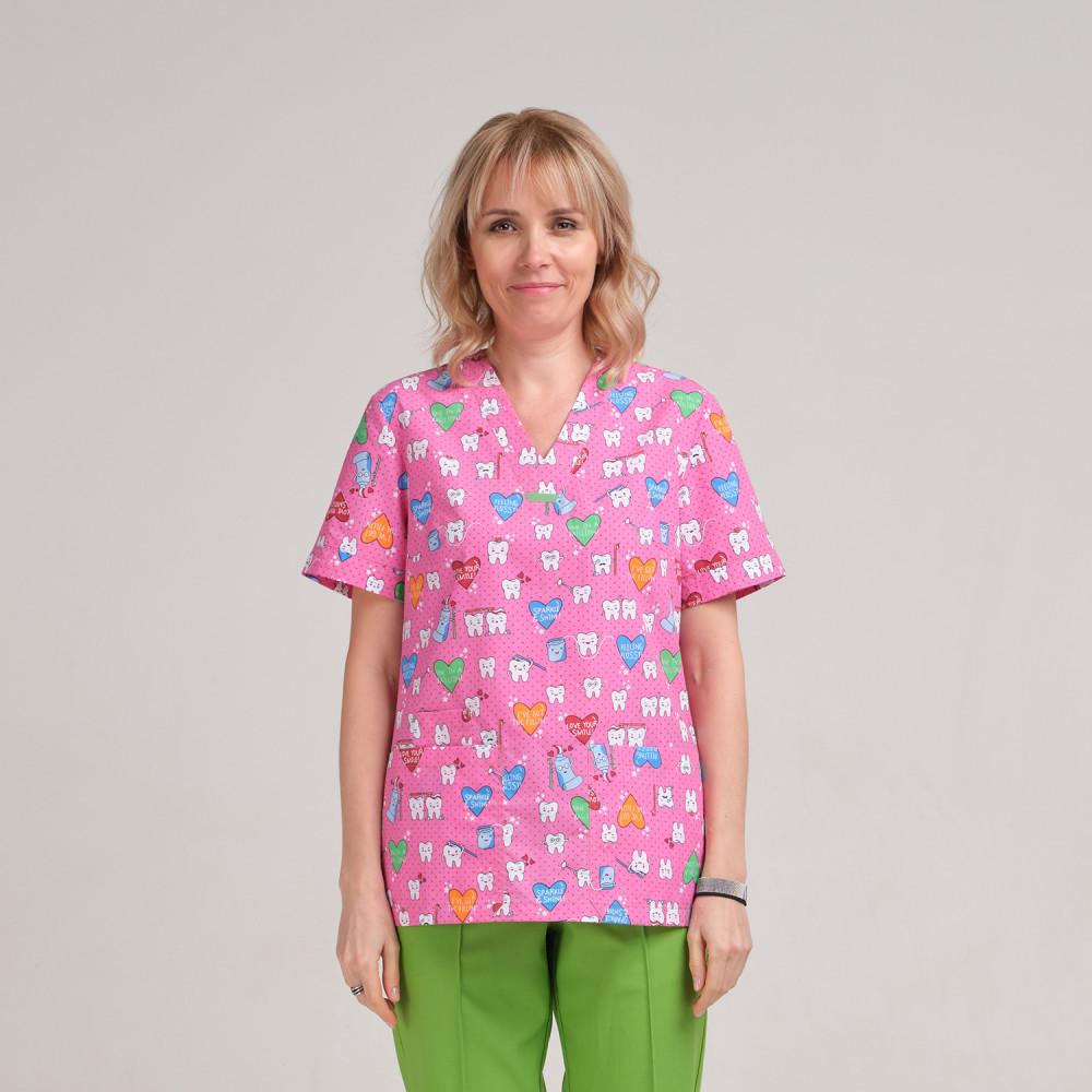Куртка медицинская женская 9724-410