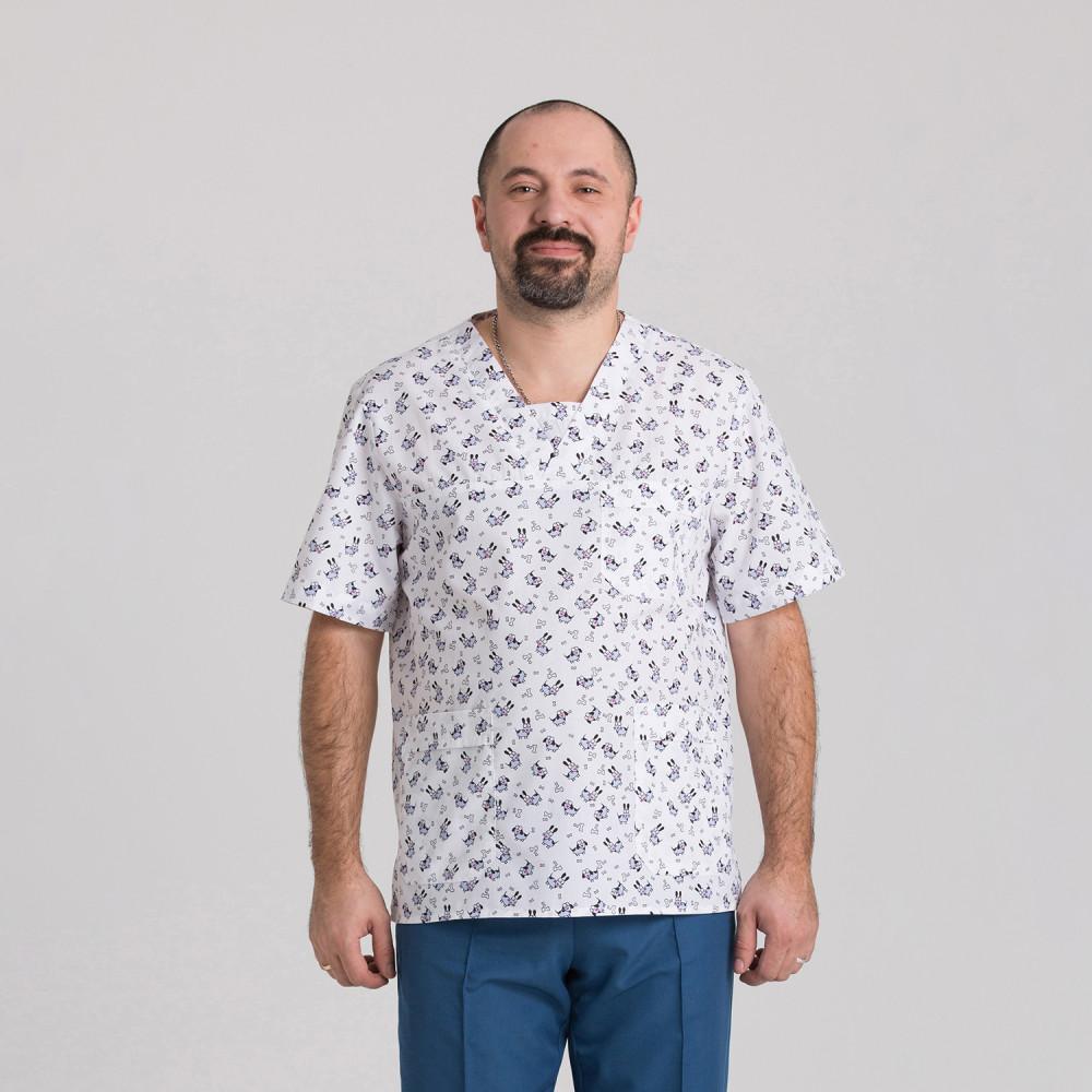 Куртка медична чоловіча 9800-400