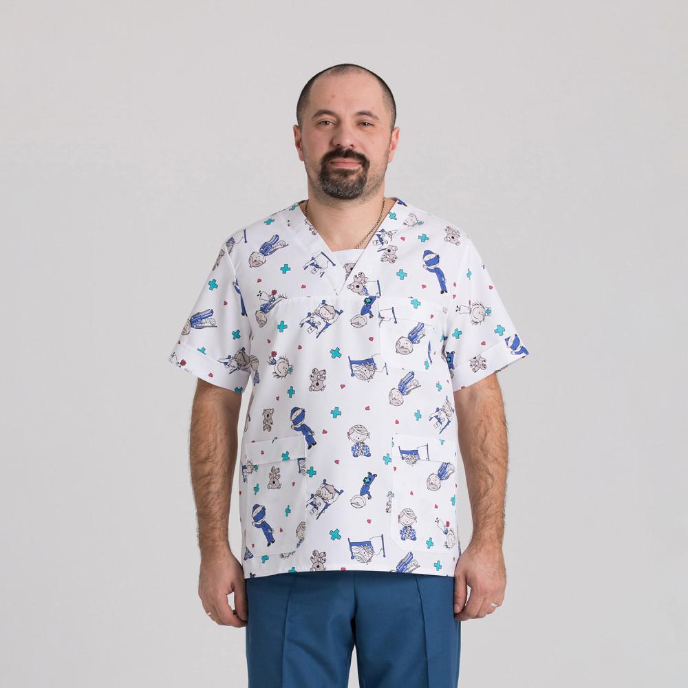 Куртка медична чоловіча 9800-423