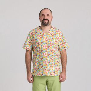 Куртка медична чоловіча 9800-427