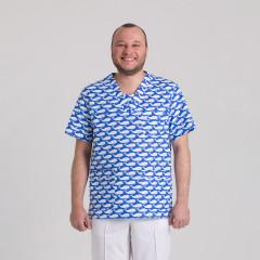 Куртка медицинская мужская 9800-429