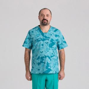 Куртка медична чоловіча 9800-432