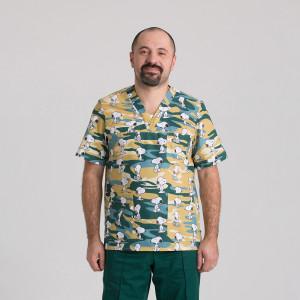 Куртка медична чоловіча 9800-434