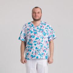Куртка медична чоловіча 9800-439