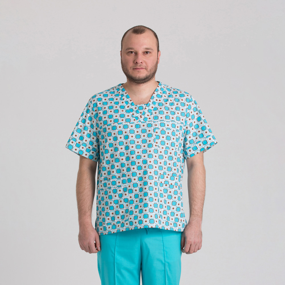 Куртка медична чоловіча 9800-451