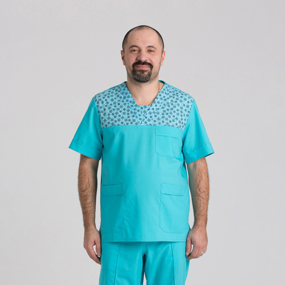 Куртка медична чоловіча 9802-102-418