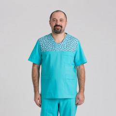 Куртка медицинская мужская 9802-102-418