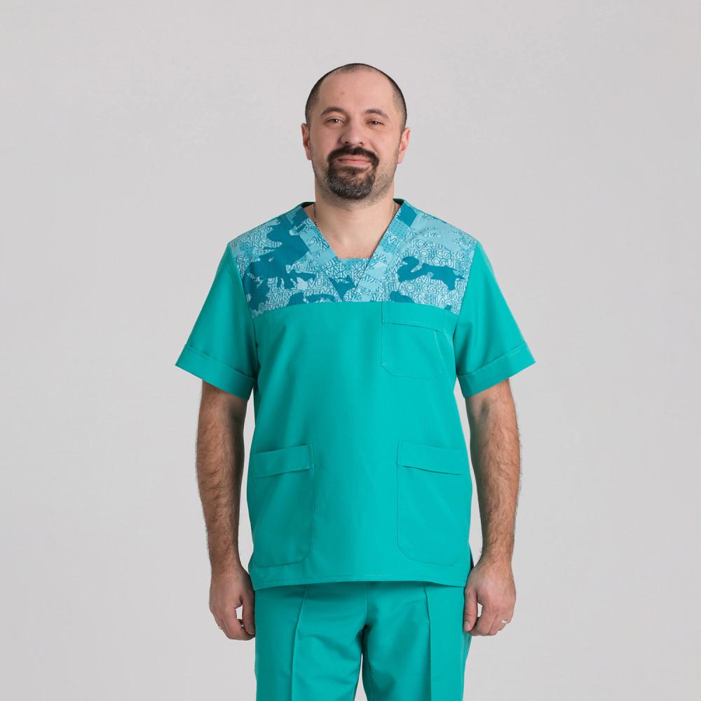 Куртка медична чоловіча 9802-102-432