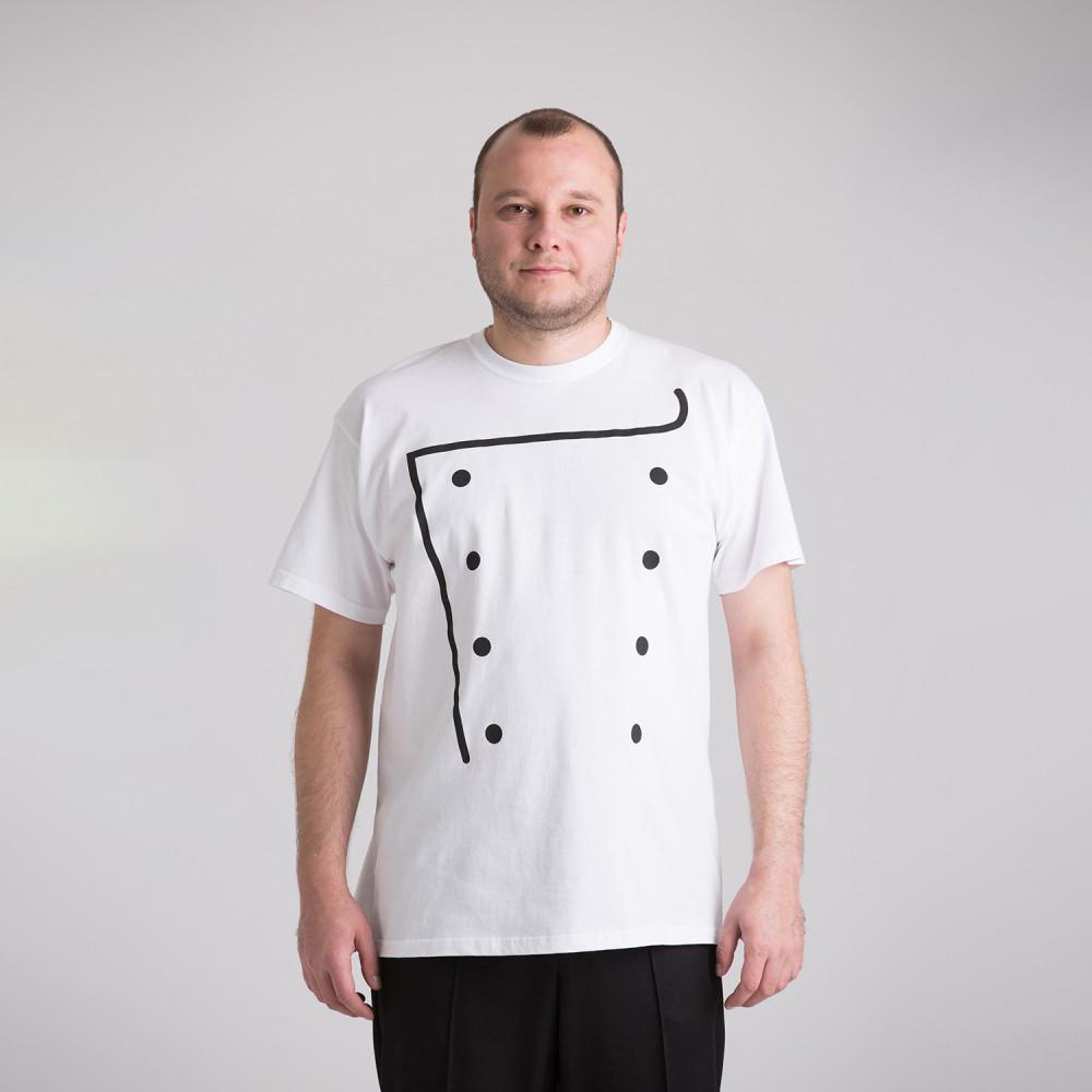 Футболка кухарська чоловіча 7642-012